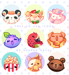 [Free to Use] Pet food by Hyanna-Natsu