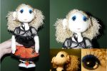 halloweencircus themed poppet by Eliea