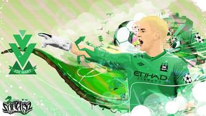 Joe Hart Vector Work by SanchezGraphic