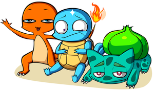 Starters, beginning by GreedForGreen