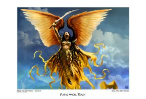Flying Angel Token by tegehel