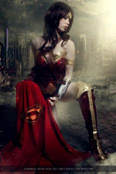 Wonder Woman - Justice League Movie - DC Comics by FioreSofen