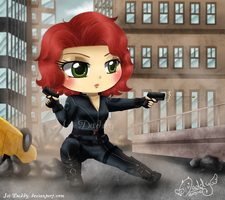 Chibi Black Widow by Isi-Daddy