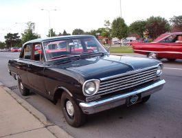 '63 chevy II on woodward by zanksworld