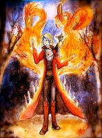 Magician of chaos by WaksaPied