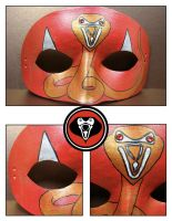 Leather Kobra Kid mask by maskedzone