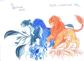 Lionized Elements by TigaLioness