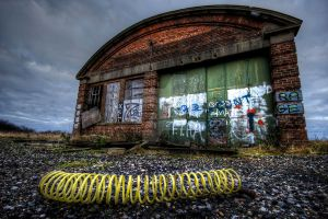 Disused Garage by GaryTaffinder