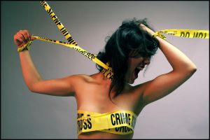 Crime Scene Tape by ZephyrPictures