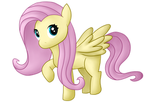 Fluttershy by Albusonita