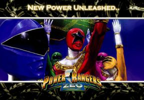 Power Rangers Zeo Wallpaper by scottasl