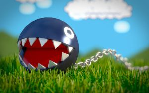 Chain Chompin' by recondroid