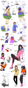 UT reload Toriel and Mettaton references by keary