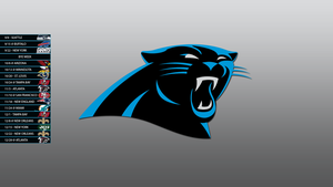 Carolina Panthers 2013 Schedule Wallpaper by SevenwithaT