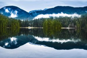 Sasamat Lake by dashakern