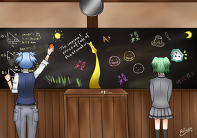 Assassination Classroom Contest by Reiusa