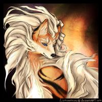Arcanine - (Pokemon) by Luminosion