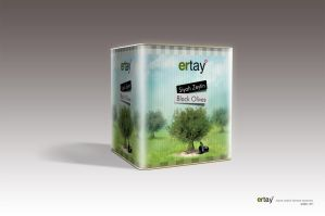ertay olives packaging design by grafiket