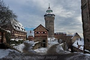 The Castle of Nuremberg by iconicarchive