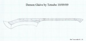 Demon Glaive by Ironstaff