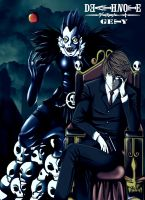 Light and Ryuk by Nouin