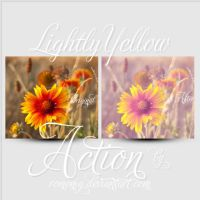 Lightly Yellow Free Action by Romenig