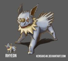 Pokefusion Rhyeon by Evertonzomer