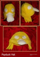Psyduck Hat by Feicoon