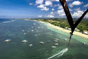 Parasailing by DonovanDennis
