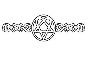 Heartagram Bracelet by Banashee
