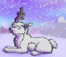 Quiet like the snow by ArualMeow