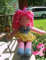 pinkie pie inspired doll by KyouIsumeChan
