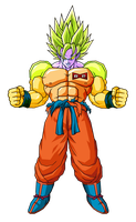 Super Arnoid Goku by GokuGarlic
