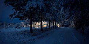 December night in Finland by wchild