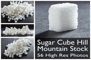 Sugar Cube Stock by pixelmixtur-stocks
