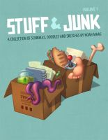 Stuff and Junk Volume 1 Cover by thisisnotnoah