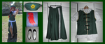 Hong Meiling Cosplay Items by LunarEmpress