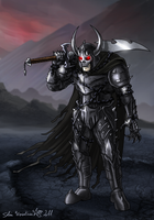 Commission - The Black Lord by Epantiras