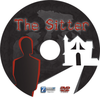 DVD Label - The Sitter by omniferous