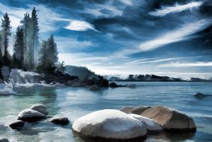 Secret cove by MartinGollery