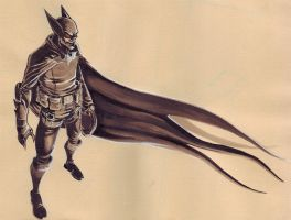 Batman by myself by Ejames
