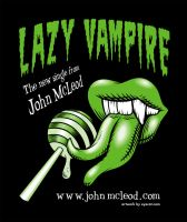 'Lazy Vampire' Promo Art Green by Huwman