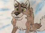 My Balto drawing by Alyssaeve