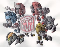 autobots roll out by monkeypoke