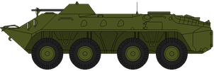 BTR-70 by DaltTT