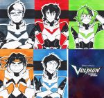 Team Voltron ACEOs by JammyScribbler