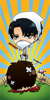 Shingeki no Kyojin bookmark by Aniteen9
