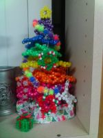 Kandi Christmas Tree by GingerCandE