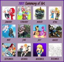 2012 Art Summary by Lolly-pop-girl732