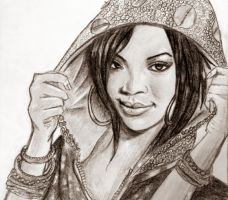 Rihanna by Angelosjay